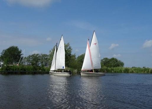 Vereinssegeln mit Polyfalken in Westfriesland. Demnächst im Spätsommer statt im Frühjahr?