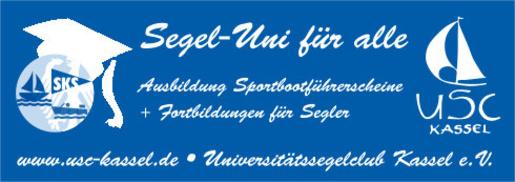Segel-Uni für alle. Ausbildung für Sportbootführerscehine beim Universitätssegelclub Kassel